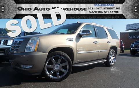 2007 Cadillac Escalade for sale in Canton, OH