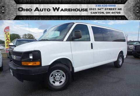2008 Chevrolet Express Passenger for sale in Canton, OH
