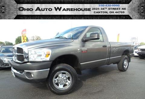 2007 Dodge Ram Pickup 2500 for sale in Canton, OH