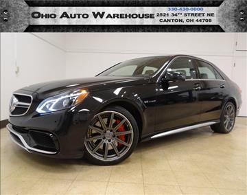 2014 Mercedes-Benz E-Class for sale in Canton, OH