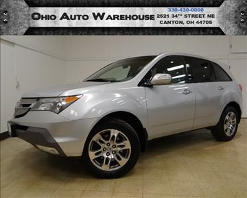 2007 Acura MDX for sale in Canton, OH