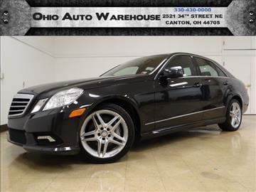 2011 Mercedes-Benz E-Class for sale in Canton, OH