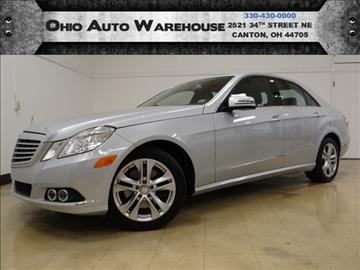 2010 Mercedes-Benz E-Class for sale in Canton, OH