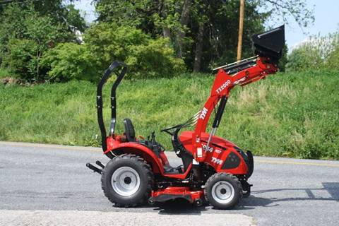 "2017 Tym T234HST Loader-60"" belly mower"