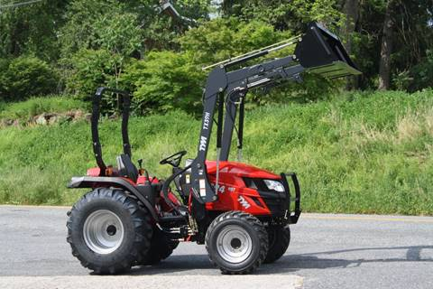 2017 Tym T394 HST with loader