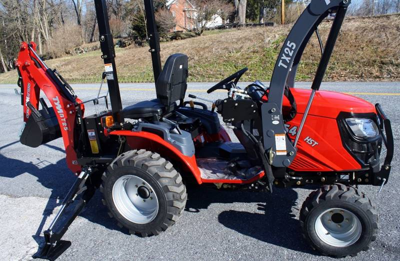 2017 TYM T254 HST Backhoe & Loader - Columbia PA
