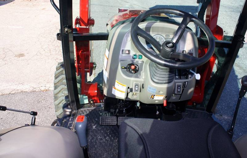 2017 TYM T454C HST Cab with a/c, heat, radio, & loader - Columbia PA
