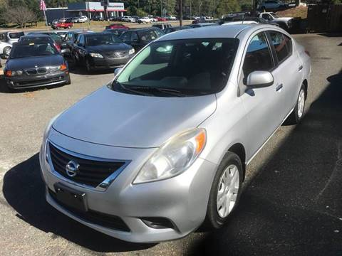 2012 Nissan Versa for sale in Charlotte, NC