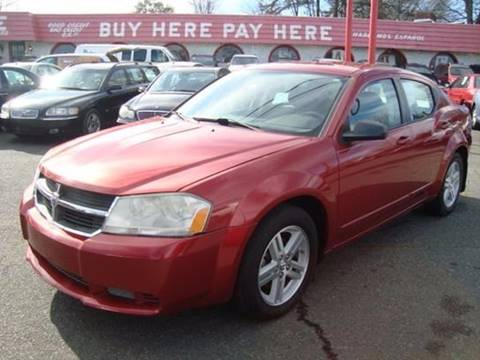 2008 Dodge Avenger for sale at Ace Auto Brokers in Charlotte NC