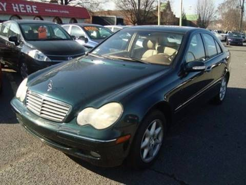 2002 Mercedes-Benz C-Class for sale at Ace Auto Brokers in Charlotte NC
