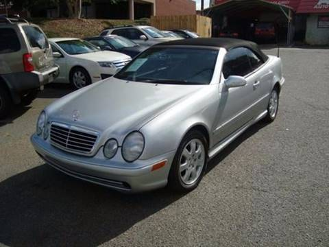 2003 Mercedes-Benz CLK for sale at Ace Auto Brokers in Charlotte NC