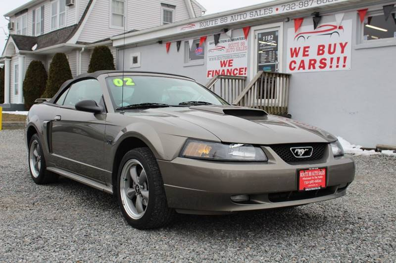 2002 ford mustang gt deluxe 2dr convertible in lakewood nj - route