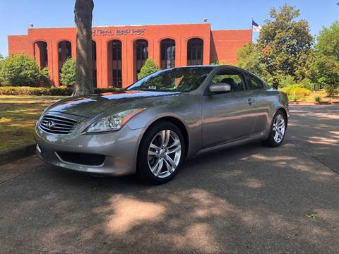 2009 Infiniti G37 Coupe for sale at AUTOMOTIVE SPECIALISTS in Decatur AL