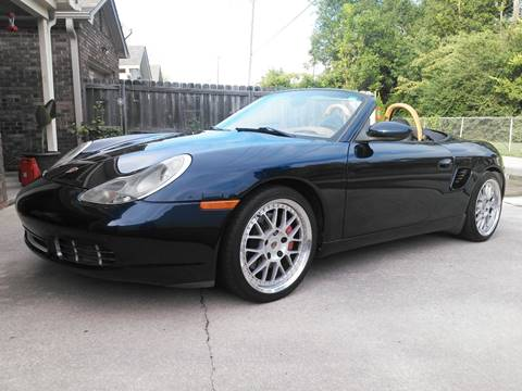 2001 Porsche Boxster for sale at AUTOMOTIVE SPECIALISTS in Decatur AL