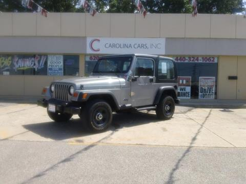 2001 Jeep Wrangler for sale in Elyria, OH