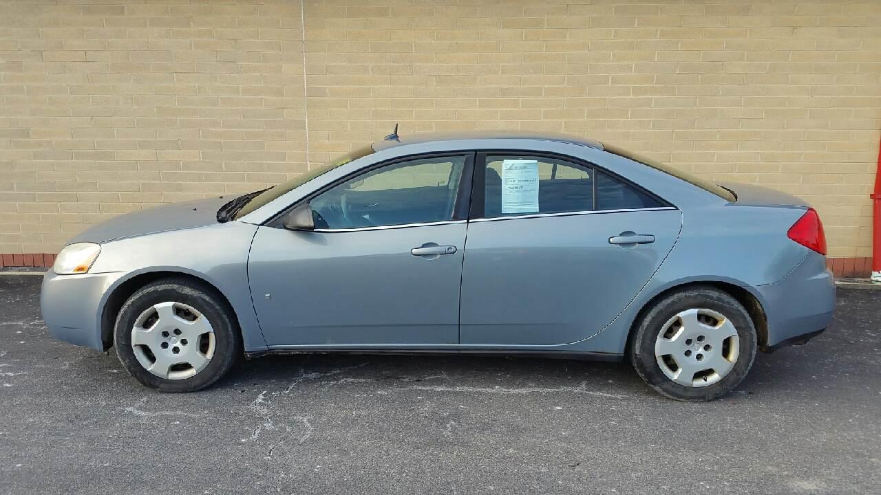 2008 Pontiac G6 for sale at Carolina Cars, Inc. in Elyria OH