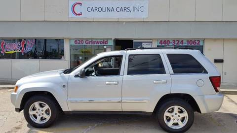 2005 Jeep Grand Cherokee for sale at Carolina Cars, Inc. in Elyria OH
