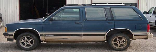 1993 Chevrolet S-10 Blazer for sale at EZ WAY AUTO in Denison TX