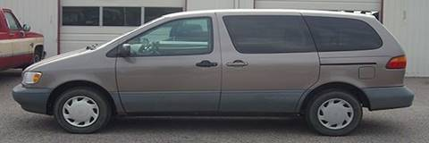 1999 Toyota Sienna for sale at EZ WAY AUTO in Denison TX