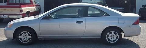 2001 Honda Civic for sale at EZ WAY AUTO in Denison TX