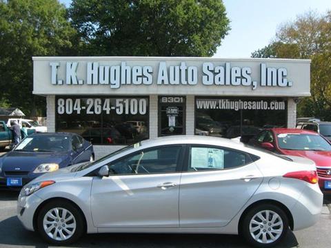 2013 Hyundai Elantra for sale in Richmond, VA