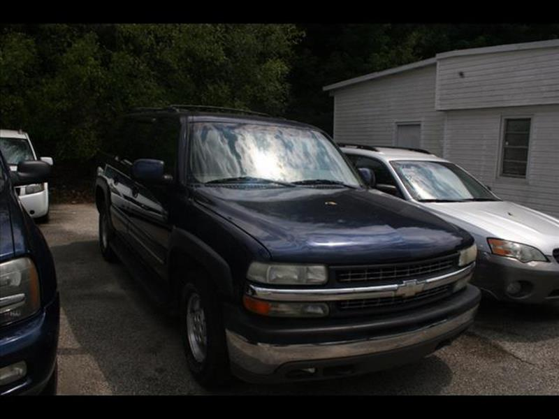2001 Chevrolet Suburban for sale at Andy Yeager Motors in Harrison AR