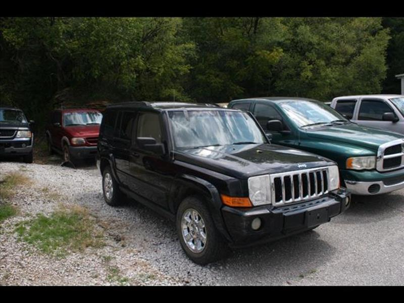 2007 Jeep Commander for sale at Andy Yeager Motors in Harrison AR