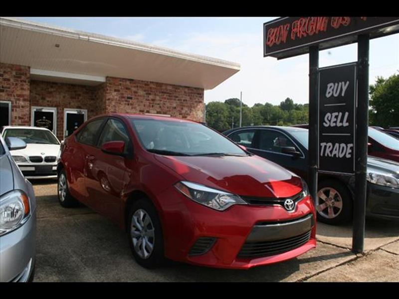 2016 Toyota Corolla for sale at Andy Yeager Motors in Harrison AR