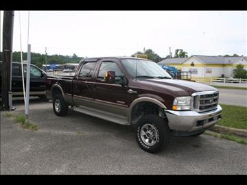 2003 Ford F-250 Super Duty for sale at Andy Yeager Motors in Harrison AR