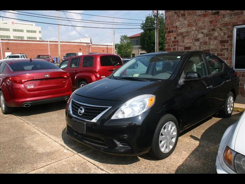 2013 Nissan Versa for sale at Andy Yeager Motors in Harrison AR