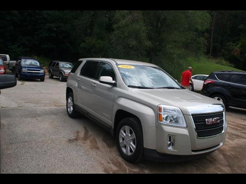 2010 GMC Terrain for sale at Andy Yeager Motors in Harrison AR