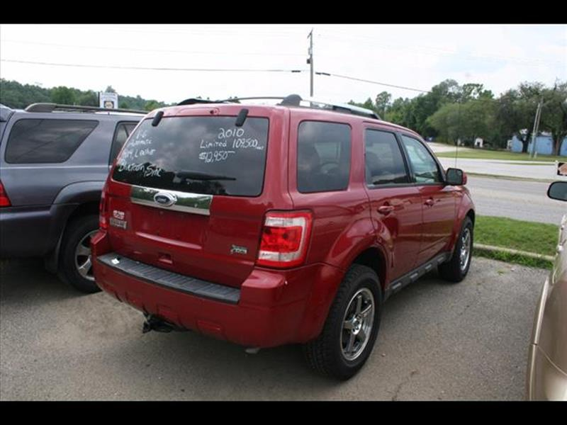 2010 Ford Escape for sale at Andy Yeager Motors in Harrison AR