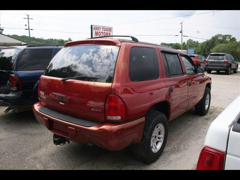 1999 Dodge Durango for sale at Andy Yeager Motors in Harrison AR