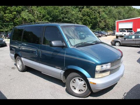 1998 Chevrolet Astro for sale at Andy Yeager Motors in Harrison AR