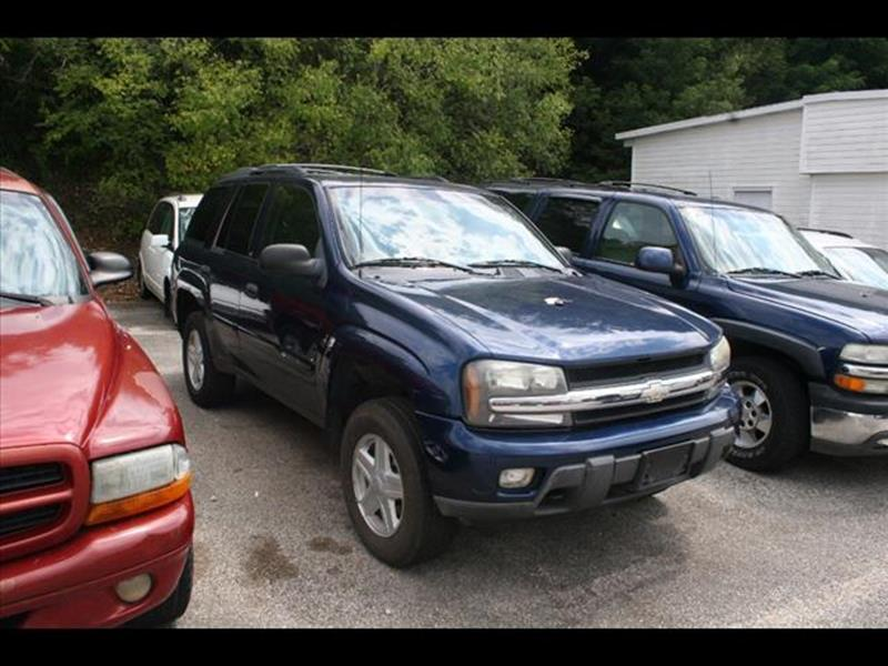 2003 Chevrolet TrailBlazer for sale at Andy Yeager Motors in Harrison AR