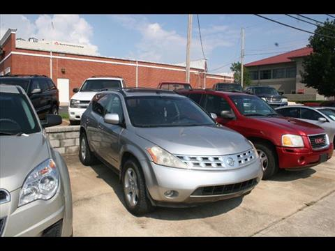 2005 Nissan Murano for sale at Andy Yeager Motors in Harrison AR