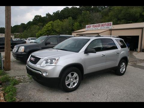 2012 GMC Acadia for sale at Andy Yeager Motors in Harrison AR