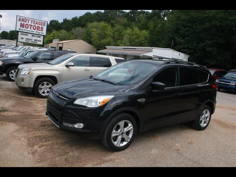 2014 Ford Escape for sale at Andy Yeager Motors in Harrison AR
