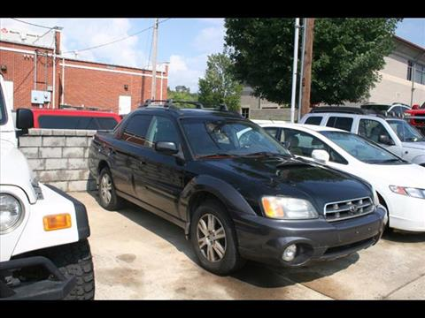2005 Subaru Baja for sale at Andy Yeager Motors in Harrison AR