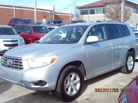 2008 toyota highlander for sale in arkansas for Andy yeager motors in harrison arkansas