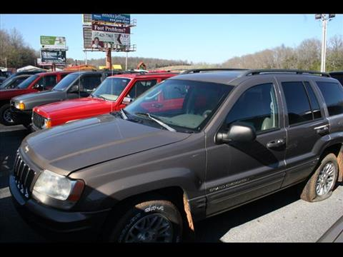 2002 Jeep Grand Cherokee for sale at Andy Yeager Motors in Harrison AR