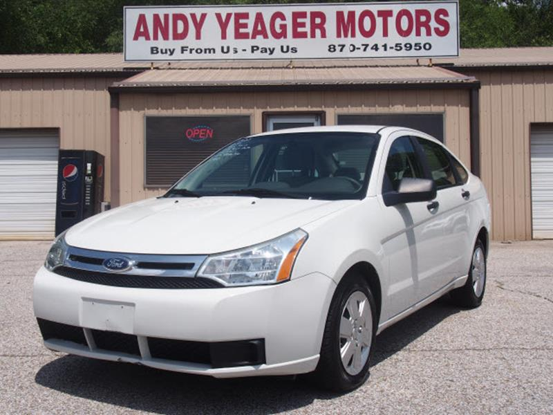 2011 Ford Focus for sale at Andy Yeager Motors in Harrison AR