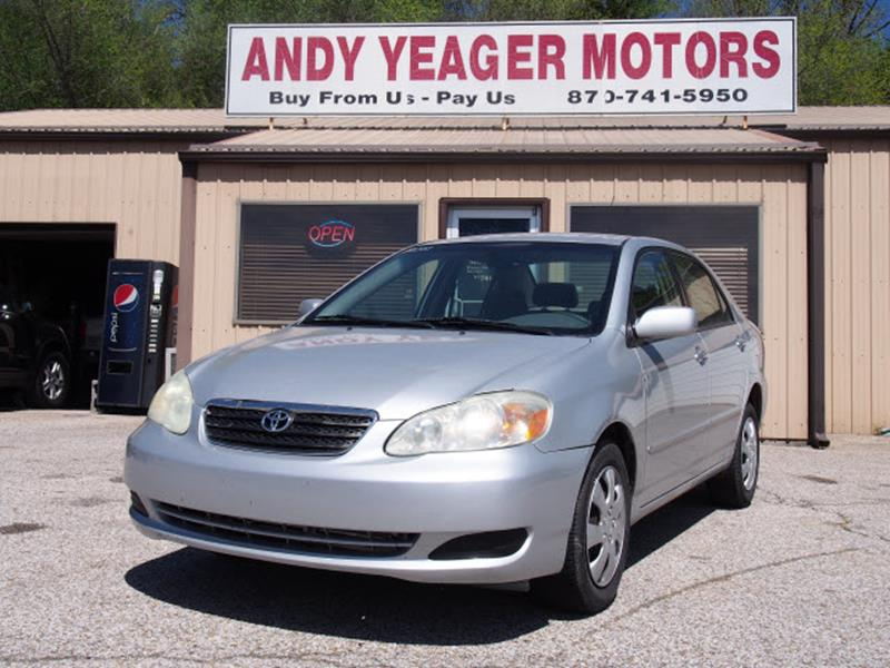 2007 Toyota Corolla for sale at Andy Yeager Motors in Harrison AR