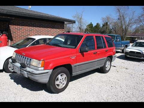 1995 Jeep Grand Cherokee for sale at Andy Yeager Motors in Harrison AR