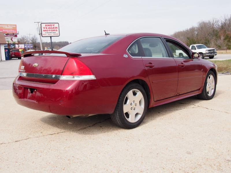 2008 Chevrolet Impala for sale at Andy Yeager Motors in Harrison AR