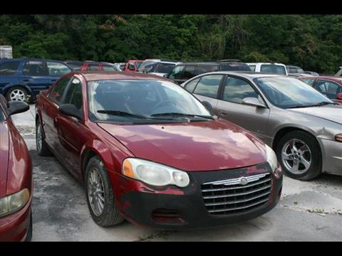 2005 Chrysler Sebring for sale at Andy Yeager Motors in Harrison AR