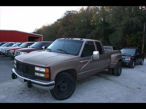 1995 GMC Sierra 3500 for sale at Andy Yeager Motors in Harrison AR
