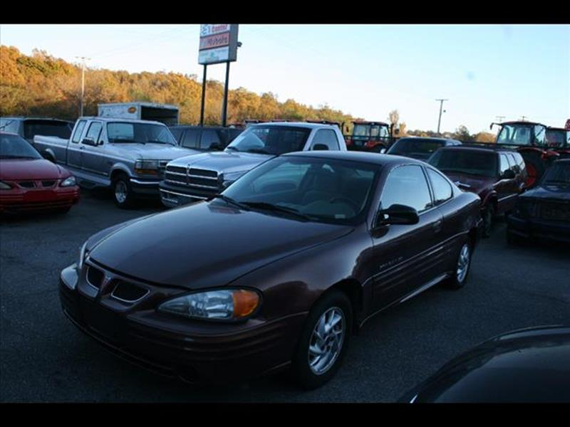 2000 Pontiac Grand Am for sale at Andy Yeager Motors in Harrison AR