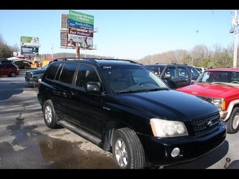 2002 Toyota Highlander for sale at Andy Yeager Motors in Harrison AR
