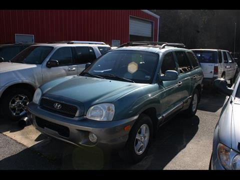 2003 Hyundai Santa Fe for sale at Andy Yeager Motors in Harrison AR